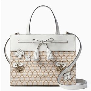 Kate ♠️ Spade Hayes Bee Embellished Small Satchel
